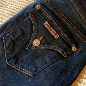 Hudson dark blue jeans